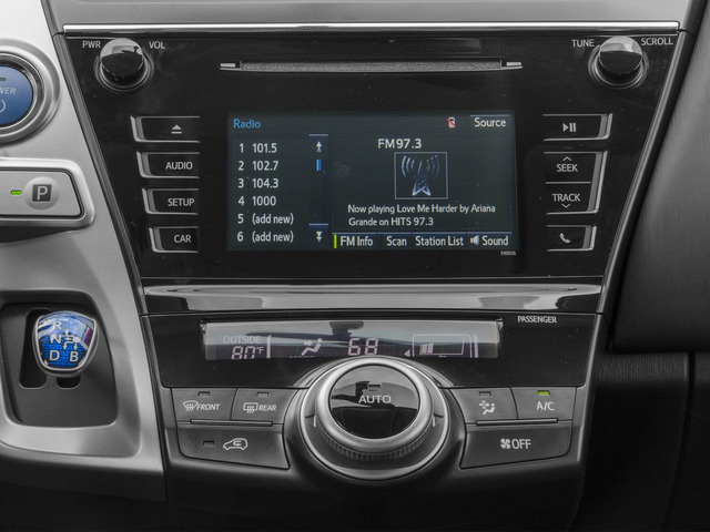 2015 Toyota Prius v Prices and Values Liftback 5D v Five I4 Hybrid stereo system