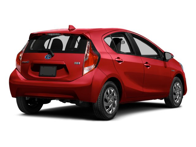 2015 Toyota Prius c Prices and Values Liftack 5D c I4 Hybrid side rear view