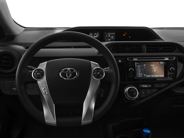 2015 Toyota Prius c Prices and Values Liftack 5D c I4 Hybrid driver's dashboard