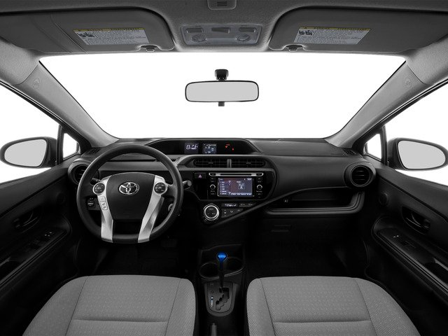 2015 Toyota Prius c Prices and Values Liftack 5D c I4 Hybrid full dashboard