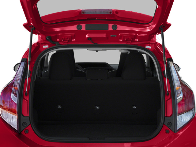 2015 Toyota Prius c Prices and Values Liftack 5D c I4 Hybrid open trunk