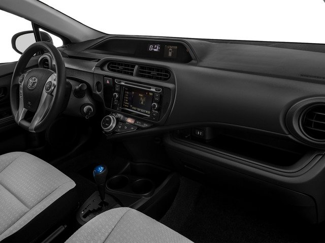 2015 Toyota Prius c Prices and Values Liftack 5D c I4 Hybrid passenger's dashboard