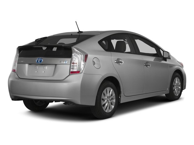 2015 Toyota Prius Plug-In Pictures Prius Plug-In Liftback 5D Plug-In I4 Hybrid photos side rear view