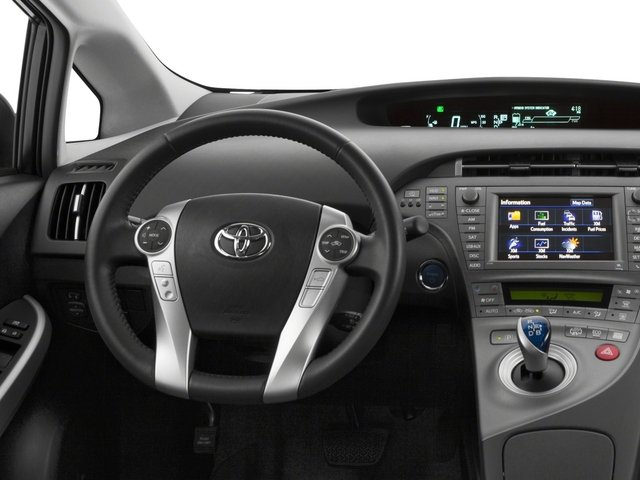 2015 Toyota Prius Plug-In Pictures Prius Plug-In Liftback 5D Plug-In I4 Hybrid photos driver's dashboard