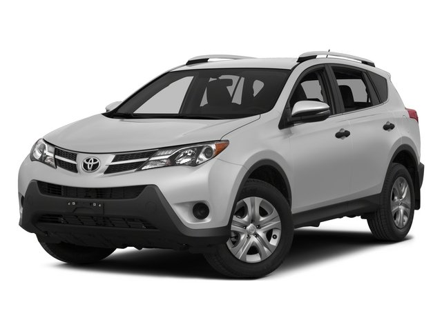 2015 Toyota RAV4 Pictures RAV4 Utility 4D LE AWD I4 photos side front view