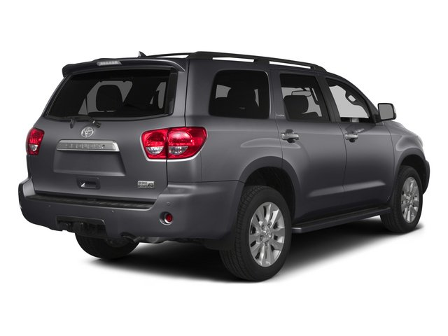 2015 Toyota Sequoia Prices and Values Utility 4D Platinum 4WD V8 side rear view