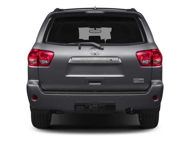 2015 Toyota Sequoia Prices and Values Utility 4D Platinum 4WD V8 rear view