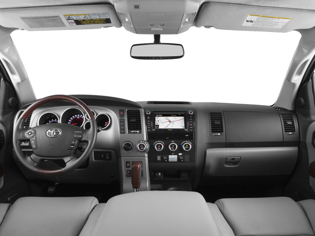 2015 Toyota Sequoia Prices and Values Utility 4D Platinum 4WD V8 full dashboard