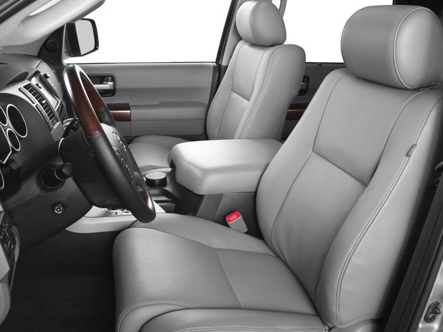 2015 Toyota Sequoia Prices and Values Utility 4D Platinum 4WD V8 front seat interior