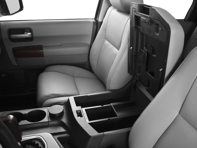 2015 Toyota Sequoia Prices and Values Utility 4D Platinum 4WD V8 center storage console