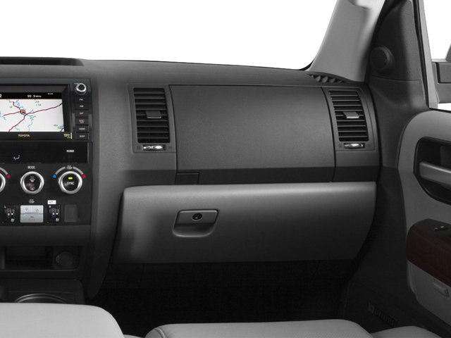 2015 Toyota Sequoia Prices and Values Utility 4D Platinum 4WD V8 passenger's dashboard