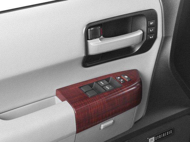 2015 Toyota Sequoia Prices and Values Utility 4D Platinum 4WD V8 driver's side interior controls