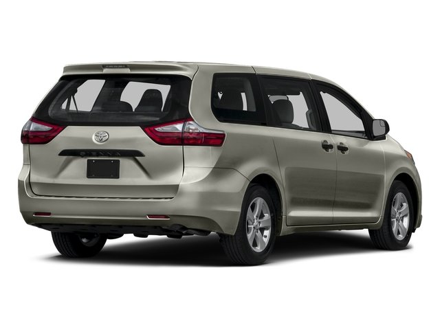2015 Toyota Sienna Prices and Values Wagon 5D Limited V6 side rear view