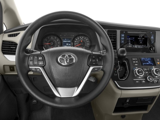 2015 Toyota Sienna Prices and Values Wagon 5D Limited V6 driver's dashboard