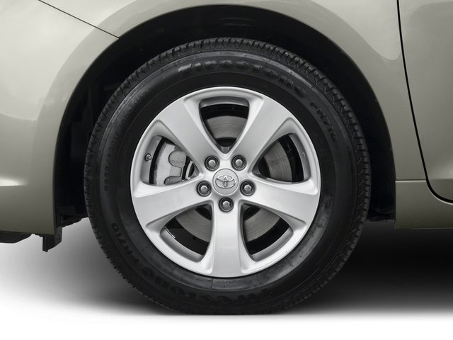 2015 Toyota Sienna Prices and Values Wagon 5D Limited V6 wheel