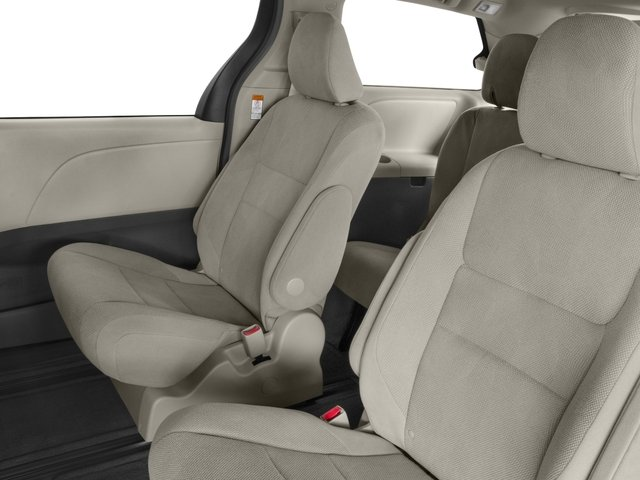 2015 Toyota Sienna Prices and Values Wagon 5D Limited V6 backseat interior