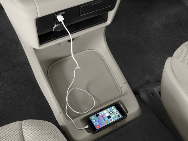 2015 Toyota Sienna Prices and Values Wagon 5D Limited V6 iPhone Interface