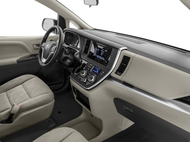 2015 Toyota Sienna Prices and Values Wagon 5D Limited V6 passenger's dashboard