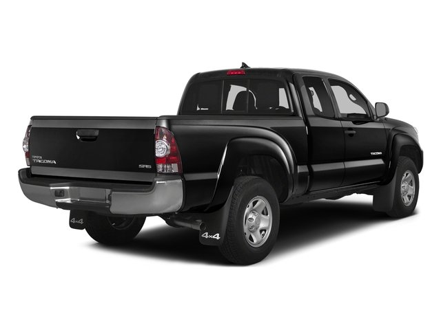 2015 Toyota Tacoma Prices and Values PreRunner Access Cab 2WD V6 side rear view