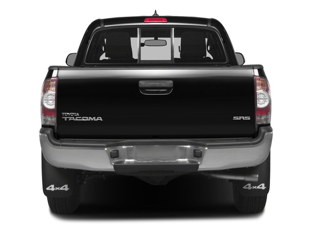 2015 Toyota Tacoma Prices and Values PreRunner Access Cab 2WD V6 rear view