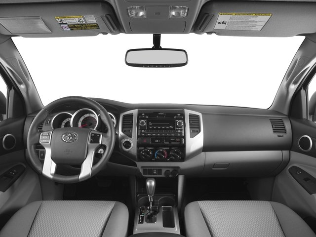 2015 Toyota Tacoma Prices and Values PreRunner Access Cab 2WD V6 full dashboard