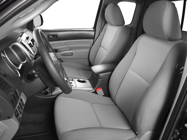 2015 Toyota Tacoma Prices and Values PreRunner Access Cab 2WD V6 front seat interior