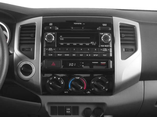 2015 Toyota Tacoma Prices and Values PreRunner Access Cab 2WD V6 stereo system