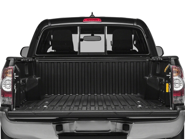 2015 Toyota Tacoma Prices and Values PreRunner Access Cab 2WD V6 open trunk