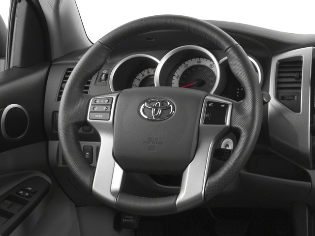 2015 Toyota Tacoma Prices and Values PreRunner 2WD V6 driver's dashboard