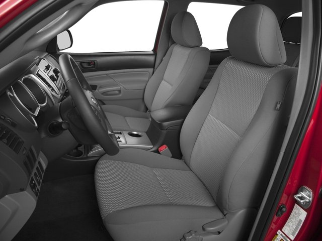 2015 Toyota Tacoma Prices and Values PreRunner 2WD V6 front seat interior