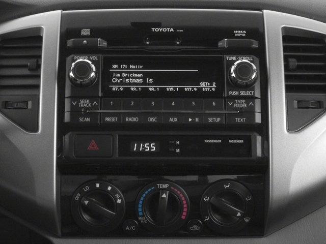 2015 Toyota Tacoma Pictures Tacoma PreRunner 2WD I4 photos stereo system