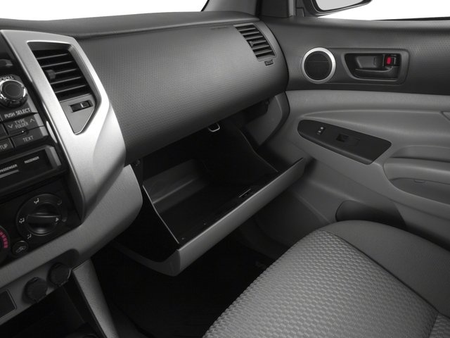 2015 Toyota Tacoma Pictures Tacoma PreRunner 2WD I4 photos glove box