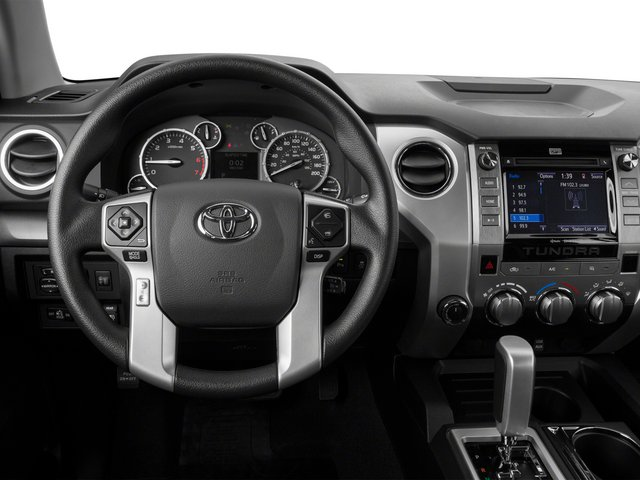 2015 Toyota Tundra 4WD Truck Prices and Values SR Double Cab 4WD driver's dashboard
