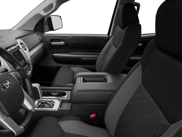 2015 Toyota Tundra 4WD Truck Prices and Values SR Double Cab 4WD front seat interior