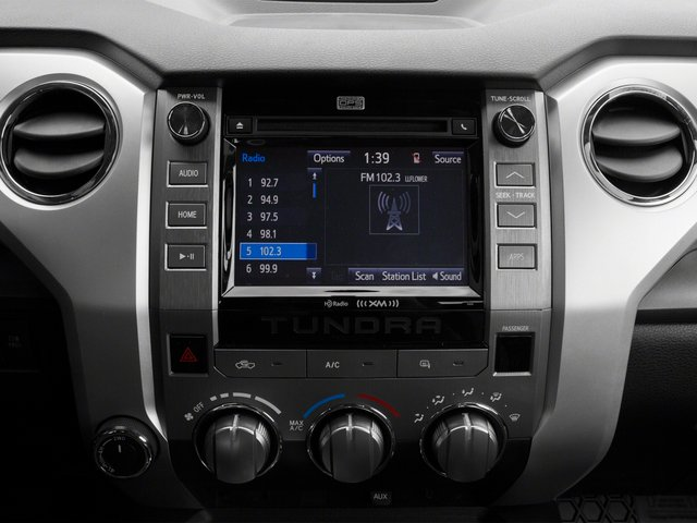 2015 Toyota Tundra 4WD Truck Prices and Values SR Double Cab 4WD stereo system