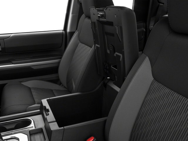 2015 Toyota Tundra 4WD Truck Prices and Values SR Double Cab 4WD center storage console