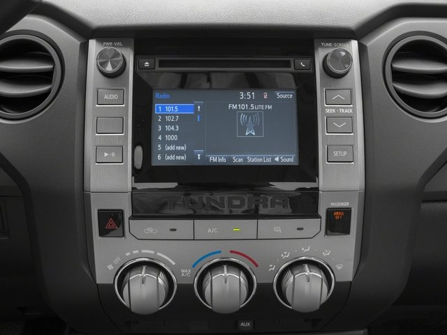 2015 Toyota Tundra 2WD Truck Prices and Values SR 2WD stereo system