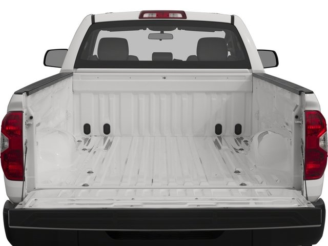 2015 Toyota Tundra 2WD Truck Prices and Values SR 2WD open trunk