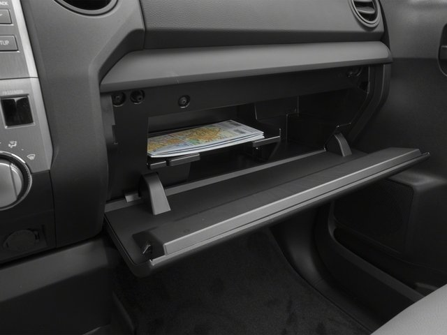 2015 Toyota Tundra 2WD Truck Prices and Values SR 2WD glove box