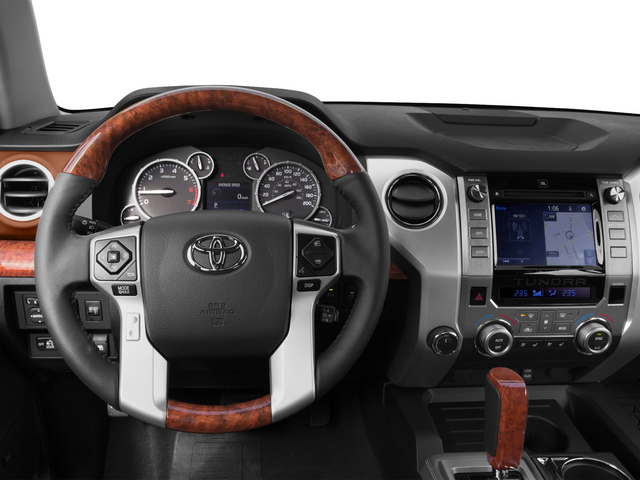 2015 Toyota Tundra 2WD Truck Prices and Values 1794 Edition Crew Cab 2WD driver's dashboard
