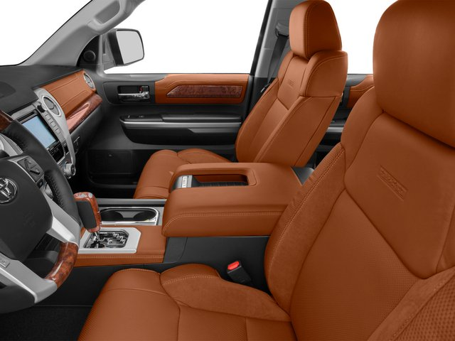 2015 Toyota Tundra 2WD Truck Prices and Values 1794 Edition Crew Cab 2WD front seat interior