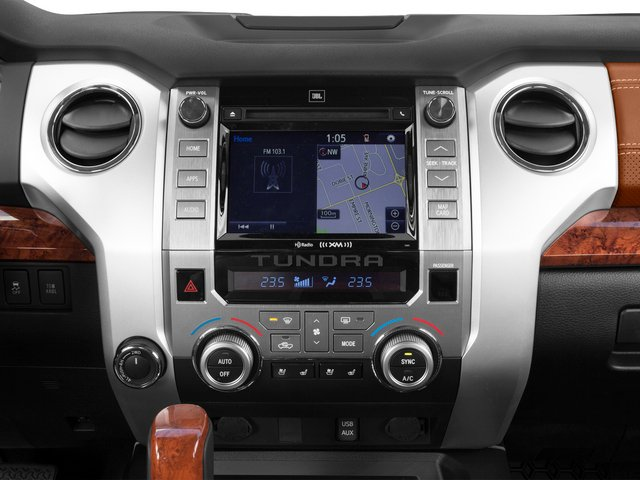 2015 Toyota Tundra 2WD Truck Prices and Values 1794 Edition Crew Cab 2WD stereo system