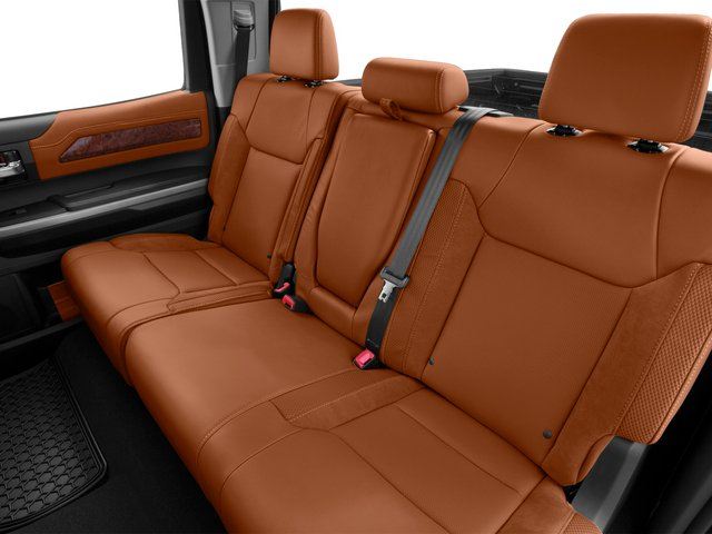 2015 Toyota Tundra 2WD Truck Prices and Values 1794 Edition Crew Cab 2WD backseat interior