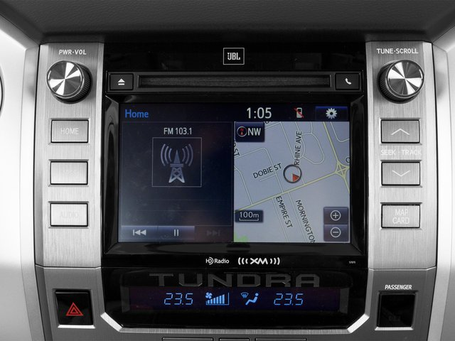 2015 Toyota Tundra 2WD Truck Prices and Values 1794 Edition Crew Cab 2WD navigation system
