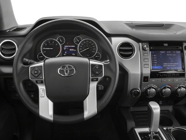 2015 Toyota Tundra 2WD Truck Prices and Values Limited CrewMax 2WD driver's dashboard