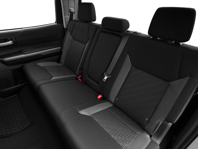 2015 Toyota Tundra 2WD Truck Prices and Values Limited CrewMax 2WD backseat interior