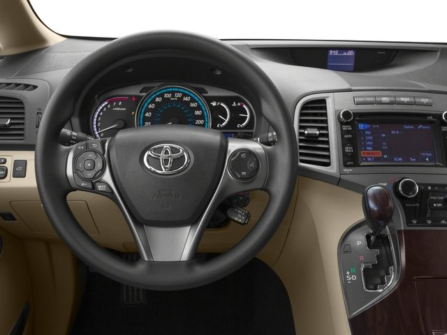 2015 Toyota Venza Prices and Values Wagon 4D Limited AWD V6 driver's dashboard