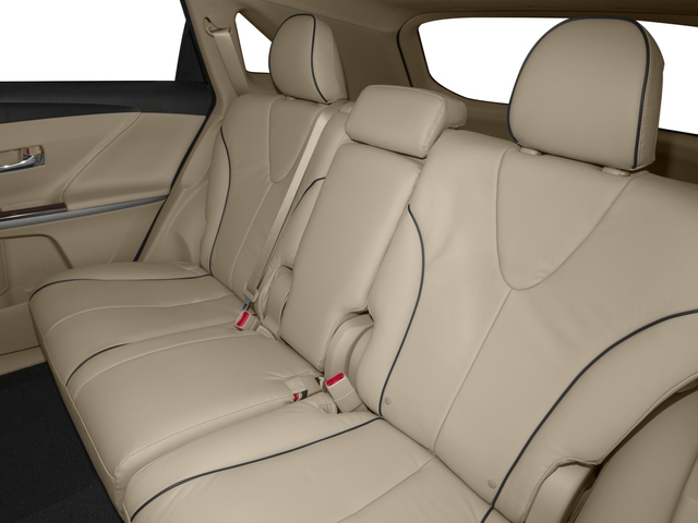 2015 Toyota Venza Prices and Values Wagon 4D Limited AWD V6 backseat interior