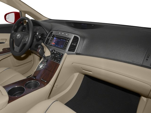 2015 Toyota Venza Prices and Values Wagon 4D Limited AWD V6 passenger's dashboard