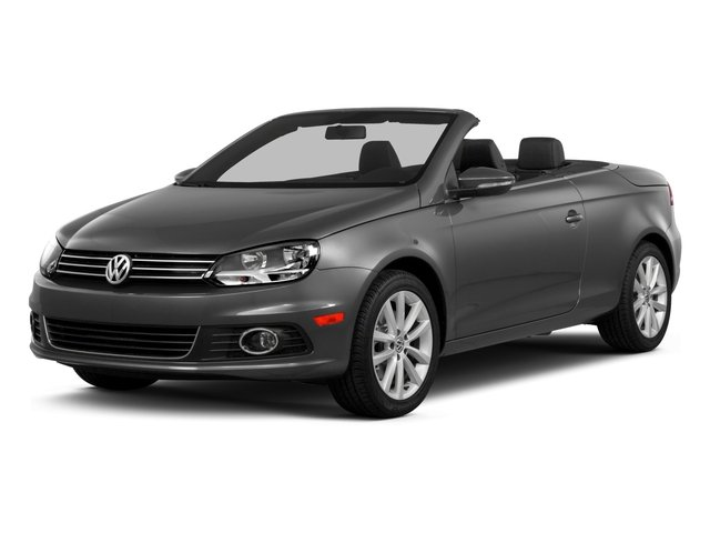 2015 Volkswagen Eos Prices and Values Convertible 2D Executive I4 Turbo side front view
